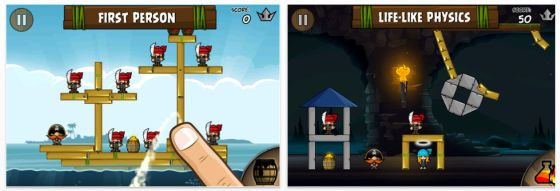Siege Hero für das iPhone - Screenshot