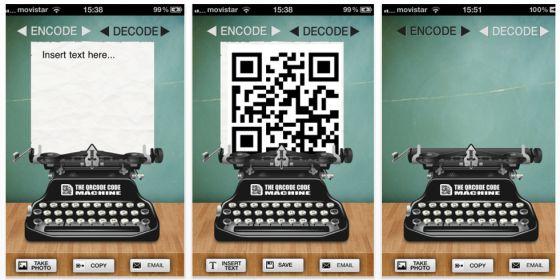 The QRCode Machine ist gerade kostenlos – mit iPhone und iPad QR-Codes lesen und erstellen