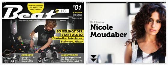 Neue iPad-App Beat Magazin HD zum Thema DJing zur Einführung statt 3,99 Euro kurzzeitig kostenlos