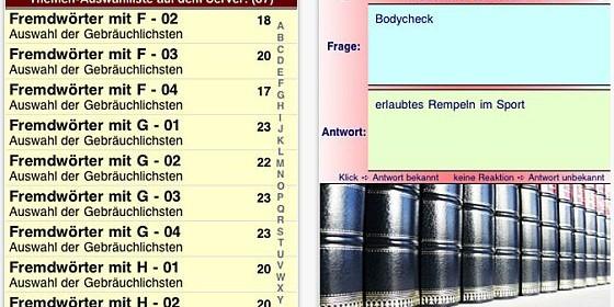 App 2000 Fremdwörter, die man braucht für iPhone und iPod Touch reduziert