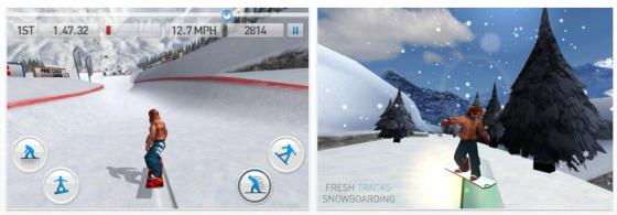 Fahr mal wieder Snowboard – mit Deinem iPhone oder iPad – die App dafür gibt's gratis