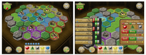 New World Colony - Strategiespiel für iPhone und iPad