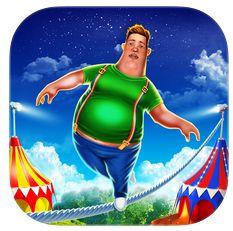 TightWire Adventures – lustiges Balance-Spiel für iPhone und iPod Touch vorübergehend kostenlos