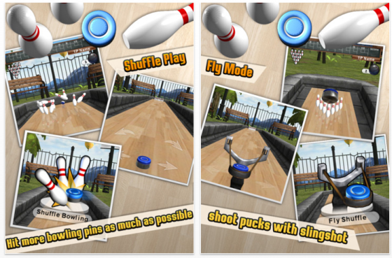 iShuffle Bowling 2 Bowling Spiel fr iPhone und iPad - Screenshots