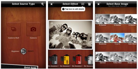 Schwarz-Weiß Labor für Eure Fotos auf iPhone und iPad gerade kostenlos