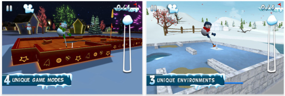 Mini Golf 3D fr iPhone und iPad Screenshots