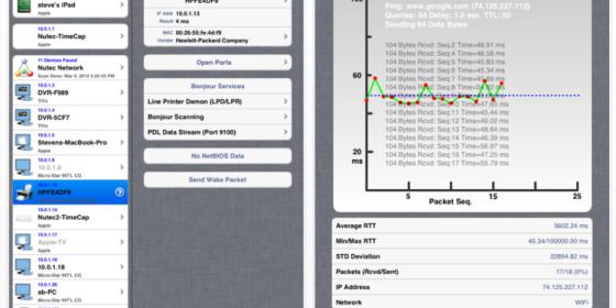 Das Netzwerk im Griff mit der gerade kostenlosen App Net Master HD für das iPad
