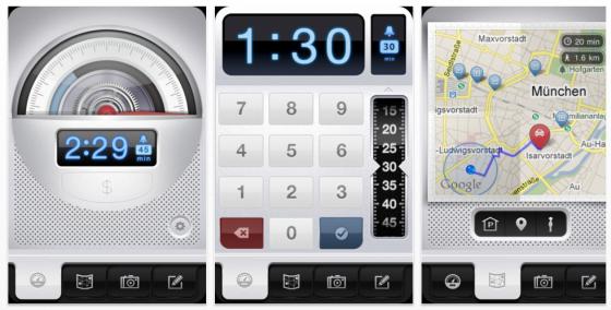 Parkbud für das iPhone