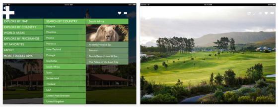 Golf Resorts fr iPad und iPhone