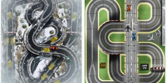 Slot Racing HD – nur kurze Zeit kostenlos für Dein iPad – ab an den Drücker