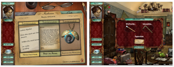 Victorian Mysteries Der Mondstein HD Screenshot der iPad Version