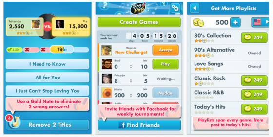 Song Pop App fr iPhone und iPad
