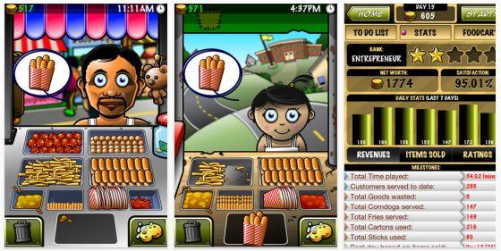 Streetfood Tycon Universal-App Spiel für iPhone, iPod Touch und iPad