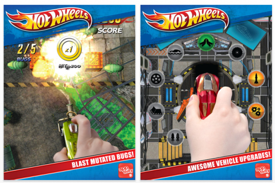 Apptivity Hot Wheels Screenshots fr das iPad