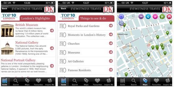 Top 10 Reiseführer London und London Tube and Bus App zur Olympia Eröffnung kostenlos