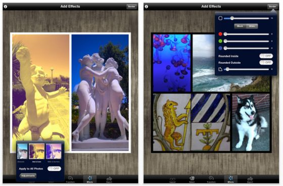 Bildbearbeitung auf dem iPhone oder iPad mit Diptic