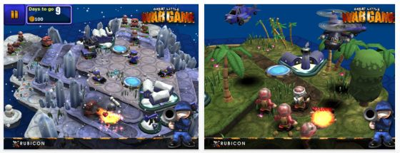 Great Little War Game HD Screenshots App für iPhoneund iPad