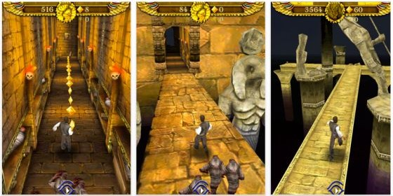 Nicht laden – Pyramid Run für iPhone, iPod Touch und iPad ist eine ganz schlechte Kopie von Temple Run