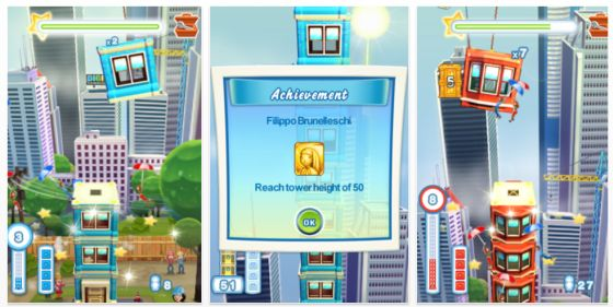 Tower Bloxx Deluxe fr iPhone und iPod Touch Screenshots