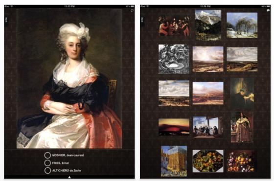 Artistique für das iPad - Screenshots