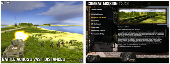 Combat Battle: Touch Screenshots der App fr iPhone und iPad