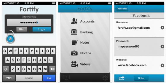 Fortify für iPhone und iPod Touch