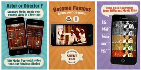 Mit Silent Film Director für das iPhone wirst Du zum Film-Regisseur – bis 19.8. kostenlos