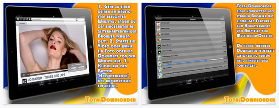 Total Downloader für iPhone und iPad