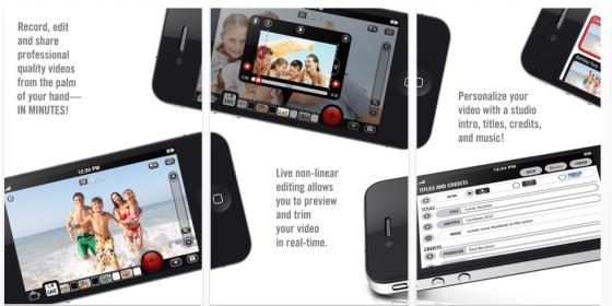 Mach Dein iPhone zur Videokamera mit der heute kostenlosen App Video Camera