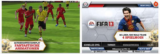 FIFA 13 by EA heute erschienen – Fußballspiel setzt Maßstäbe für iPad und iPhone
