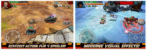 Indestructible fr iPhone und iPad - Screenshots