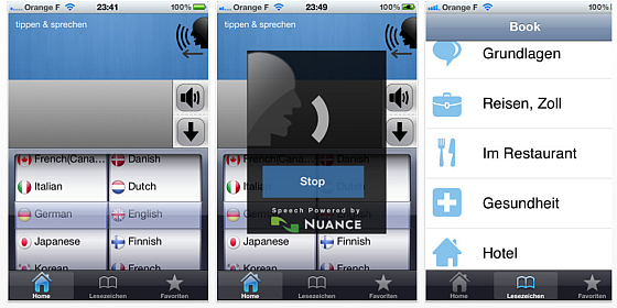 Der Dolmetscher im iPhone und iPad war heute kostenlos und kann 39 Sprachen und Dialekte