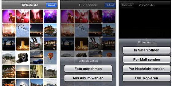 App mit unbeschränktem Online-Speicher für Bilder von iPhone und iPad neu und kostenlos