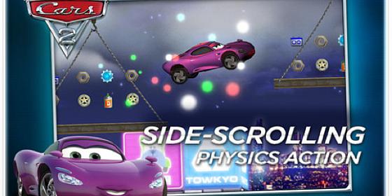 Cars 2 App ist gerade kostenlos für iPhone und iPod Touch – läuft auch auf iPads