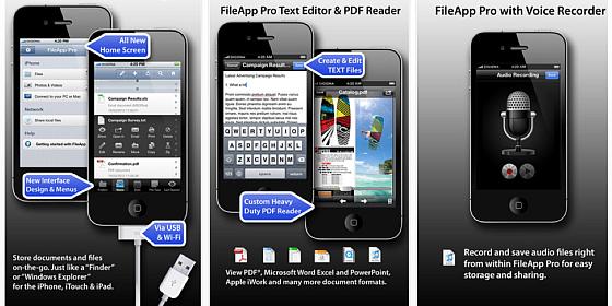 Dateimanager File App Pro für iPhone und iPad ist heute kostenlos – spare 5,49 Euro