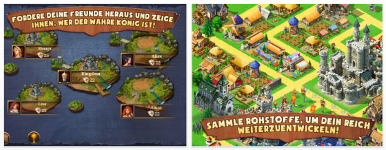 Kingdoms & Lords von Gameloft - Screenshots