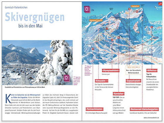 iPad Skiatlas 2013 fr das iPad Screenshot