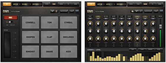 Vintage Drumcomputer DM1 für iPhone und iPad vorübergehend kostenlos