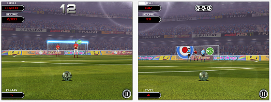Flick Soccer! HD Screenshots