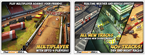 Mini Motor Racing HD Screenshots