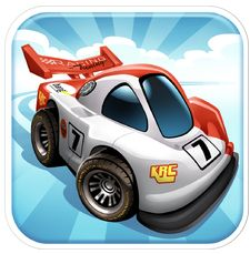 Mini Motor Racing Icon