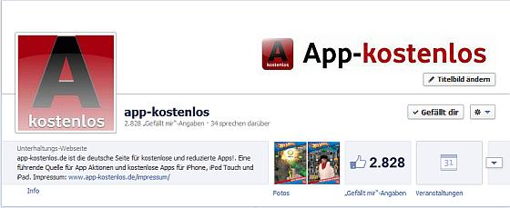 facebook Gefällt Dir Button