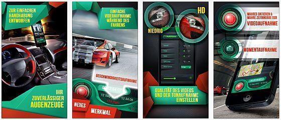 Verkehrsüberwachung und Unfallbeweise: Black Box für Auto und Motorrad gerade kostenlos