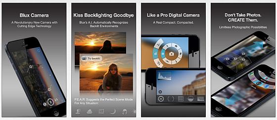 Jetzt ist Blux Camera Pro für iPhone und iPod Touch kurzfristig kostenlos
