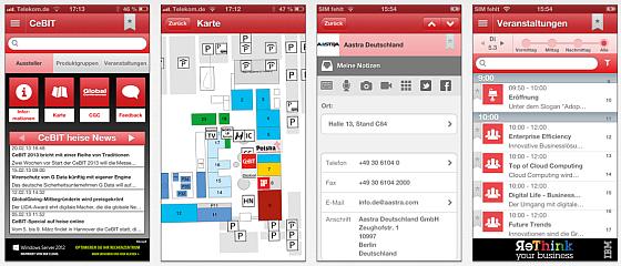 Die offizielle App zur CeBIT – laden und alle Infos auf iPhone oder iPad haben