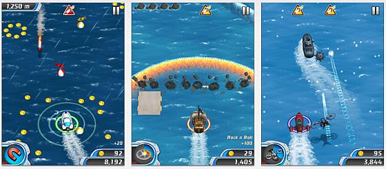 Danger Boat – gefährliche Seereise auf iPhone, iPod Touch und iPad