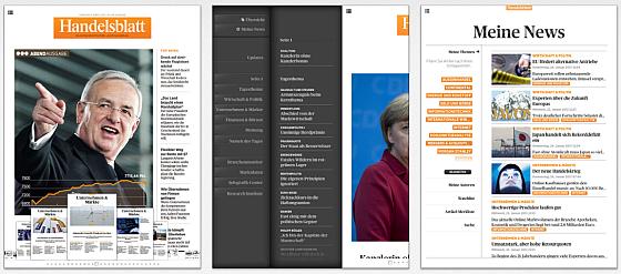 Sieben Tage kostenlos Handelsblatt auf dem iPad lesen