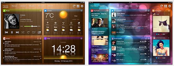 Nachrichtenzentrale My Dashboard ist gerade gratis für iPhone und iPad