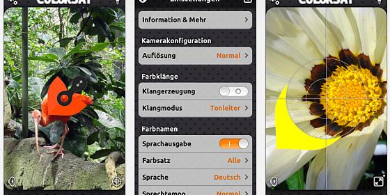 Die neue App ColorSay sagt Blinden die Farben an – und ist diese Woche gratis