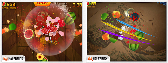 Fruit Ninja HD Screenshots